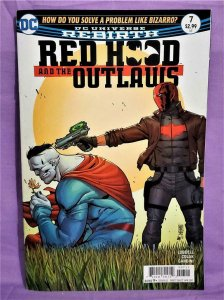 DC Rebirth RED HOOD and the OUTLAWS #7 Mirko Colak (DC, 2017)!