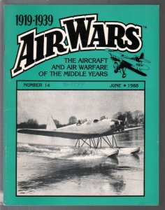 Air Wars #14 6/1987-Aircraft & air warfare of the middle years 1919-1939-FN