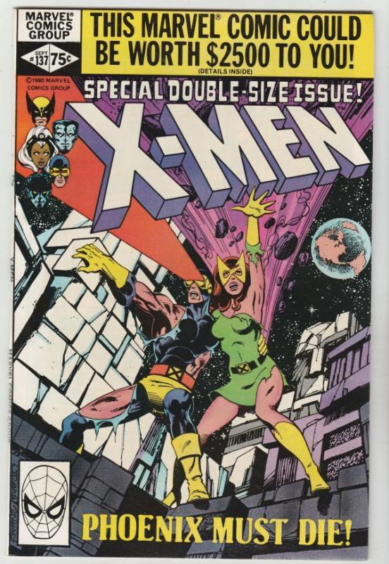 X-Men #137 (Sep-80) NM/NM- High-Grade X-Men