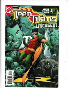 TEEN TITANS #4 NM/VF DC COMICS