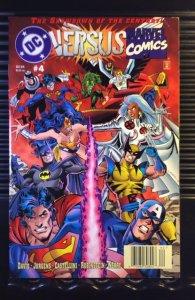 DC Versus Marvel/Marvel Versus DC  (MX) #4 Newsstand Edition