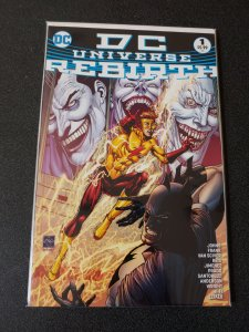 DC Universe Rebirth #1 - HTF 4th Printing NM 1ST Cover Appearance of 3 Jokers