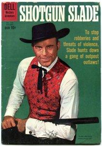Shotgun Slade- Four Color Comics #1111 1960- Scott Brady VG