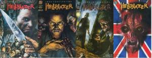 HELLBLAZER 52-55  Royal Blood 4-part story arc!