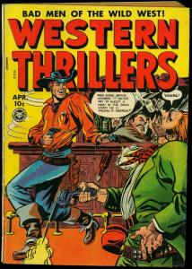 Western Thrillers #5 1949- Fox Comics- Butch Cassidy- Wild Bunch- VG