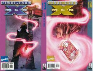 ULTIMATE X MEN (2001-2009) 13-14  GAMBIT story