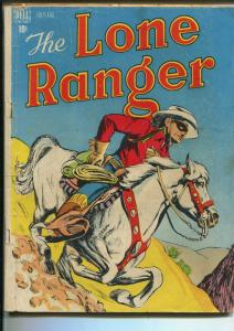 LONE RANGER #4 1948-DELL-SILVER-NEWSPAPER STRIP-fr/good