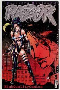 RAZOR #9, NM+, Everette Hartsoe, Femme Fatale, 1994, more in our store