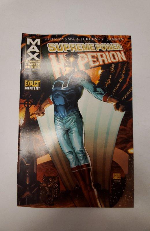 Supreme Power: Hyperion #4 (2006) NM Max Comic Book J655