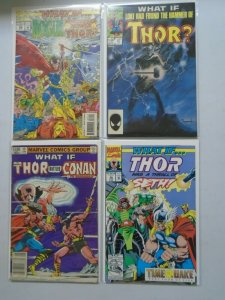 What If? lot 4 different Thor issues 8.0 VF