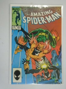 Amazing Spider-Man #257 Direct edition 6.0 FN (1984 1st Series)