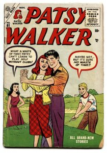 PATSY WALKER #61 1955-ATLAS--GOLF COURSE COVER-PAPER DOLLS
