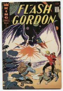Flash Gordon #4 1967- Al Williamson- Secret Agent X-9 VG