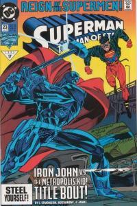 Superman: The Man of Steel #23, VF+ (Stock photo)