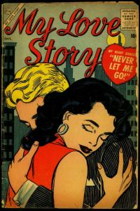My Love Story #4 1956- Atlas Romance- Vince Colletta VG