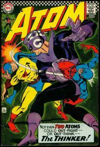 The Atom #29 1967- Golden Age Atom appearance- Thinker- Gil Kane VG+