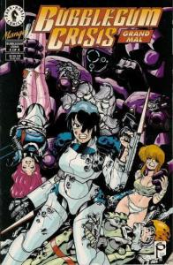 Bubblegum Crisis: Grand Mal #4 VF; Dark Horse | save on shipping - details insid