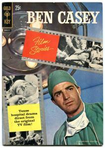 BEN CASEY FILM STORIES #1 1962-TV PHOTO BOOK-GOLD KEY FN
