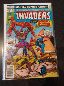 THE INVADERS #25 BRONZE AGE HIGH GRADE VF/NM