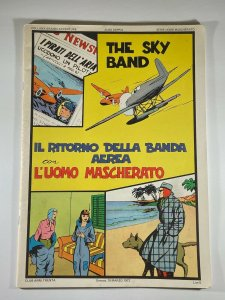 Lee Falk The PHANTOM The SKY BAND in English Cover in Italian 1972 Anni Trenta