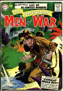 All American Men of War #45 1957-DC-tommy gun cover-VG