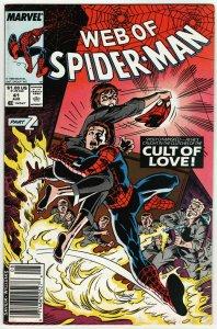 Web Of Spider-Man #41 (Marvel, 1988) FN