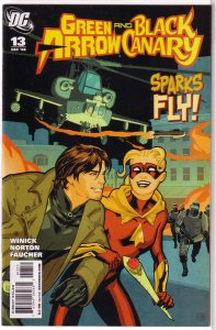 Green Arrow/Black Canary (vol. 1, 2007) #13 FN Winick/Norton