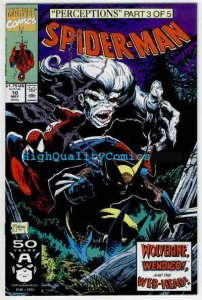 SPIDER-MAN #10, NM+, Todd McFarlane,1990, Wolverine, more Marvel in store