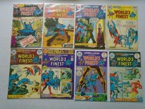 World's Finest Superman Batman lot 20 diff from:#218-243 avg 4.0 VG (1973-77)