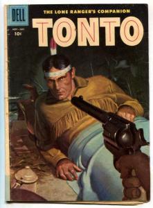 Tonto #29 1958-Dell Western-Lone Ranger's companion G