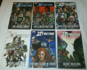X-Factor V2 1-6 1 2 3 4 5 6 by Peter David Ryan Sook Madrox lot of 6 TPBs