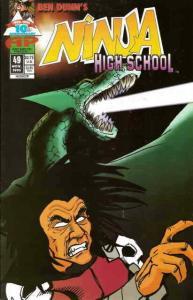 Ninja High School #49 VF/NM; Malibu | save on shipping - details inside