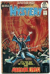 HOUSE OF MYSTERY #198 1972 DC COMICS HORROR ATOM BOMB --FN
