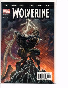 Marvel Comics Wolverine The End #6 Last Issue NM