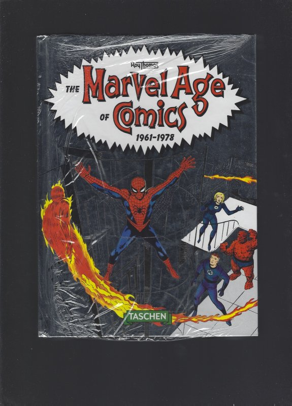 MARVEL AGE OF COMICS 1961-1978 TASCHEN 40TH ANNIVERSARY HARDCOVER Factory Sealed