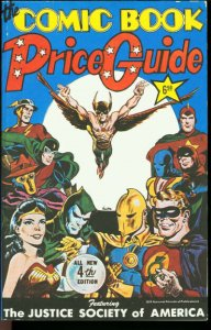 OVERSTREET COMIC BOOK PRICE GUIDE #4-JUSTICE SOCIETY VF/NM