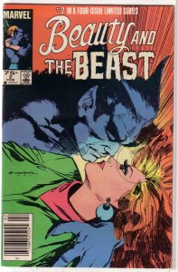 Beauty and the Beast   (Marvel)   #2 of 4 GD