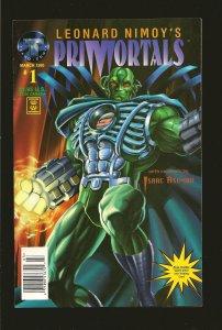 Tekno Comics Leonard Nimoys Primortals Vol 1 Vol 2 Vol 3 March April May 1995