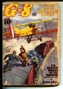 G-8 And His Battle Aces-Pulps-12/1938-Robert J. Hogan-Greaseball Joe