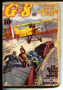 G-8 And His Battle Aces-Pulps-12/1938-Robert J. Hogan-Greaseball Joe
