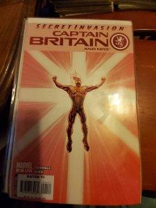 Captain Britain and MI:13 #3 (2008)