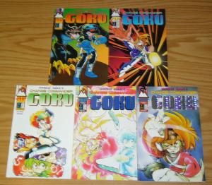 Ippongi Bang's Change Commander Goku #1-5 FN/VF complete series - manga set lot
