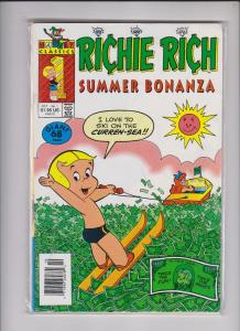 RICHIE RICH SUMMER BONANZA   V1 #1 68 pgs./ MED QUALITY