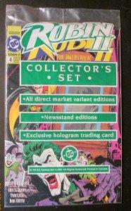 Robin II #4 Comic Book Set Joker's Wild