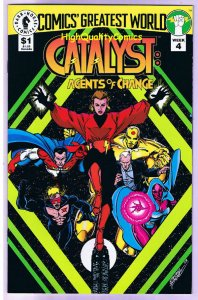 CATALYST : Agents of, NM+, Comic's Greatest World, 1993,more Dark Horse in store