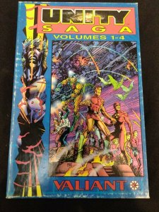 Unity Saga Volumes #1-4 FULL SET WITH SLIPCOVER 1994 Trade Paperbacks 1 2 3 4