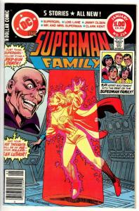 SUPERMAN FAMILY 214 VERY FINE-NEAR MINT   January  1982