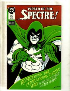 12 Comics Spectre 1 9 10 12 13 14 16 18 Annual 1 Blue Beetle 8 10 19 J410