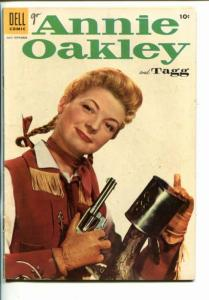 ANNIE OAKLEY AND TAGG #4-1955-WESTERN-PHOTO COVERS-vg