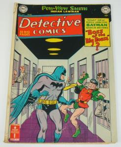 Detective Comics #169 GD/VG march 1951 - batman/robin - pow-wow smith golden age